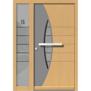 Lesena vhodna vrata KLI H 133 + ST