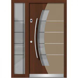 Lesena vhodna vrata KLI H 136E + ST
