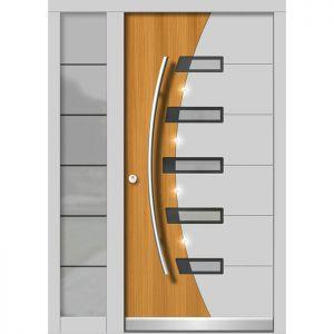 Lesena vhodna vrata KLI H 137 + ST
