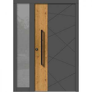 Lesena vhodna vrata KLI H 141 + ST