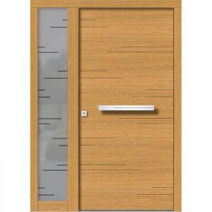 Lesena vhodna vrata KLI H 142 + ST