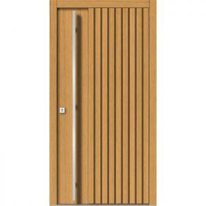 Lesena vhodna vrata KLI H 143