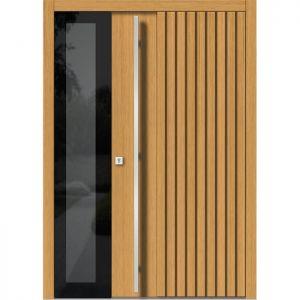 Lesena vhodna vrata KLI H 143 + ST
