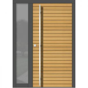 Lesena vhodna vrata KLI H 144 + ST