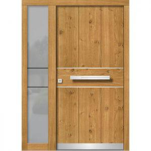Lesena vhodna vrata KLI H 145E + ST