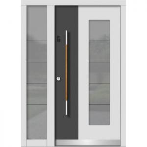 Lesena vhodna vrata KLI H 146 + ST