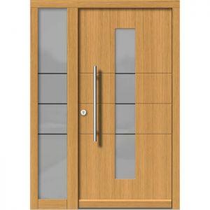Lesena vhodna vrata KLI H 147 + ST