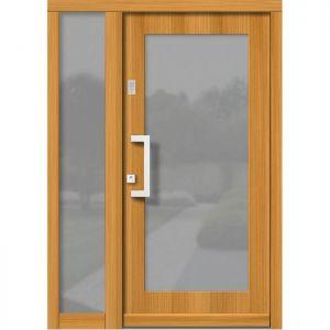 Lesena vhodna vrata KLI H 148 + ST