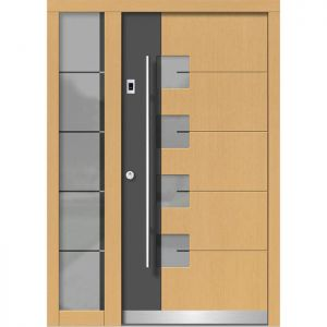 Lesena vhodna vrata KLI H 152 + ST