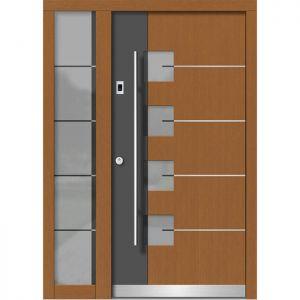 Lesena vhodna vrata KLI H 152E + ST