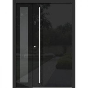 Lesena vhodna vrata KLI H 301 + ST