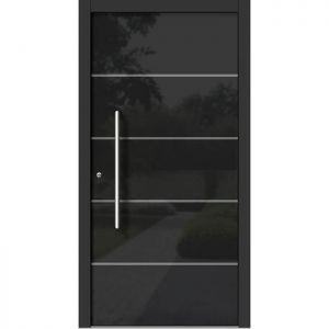 Lesena vhodna vrata KLI H 302