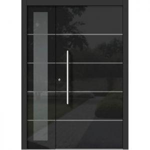 Lesena vhodna vrata KLI H 302 + ST
