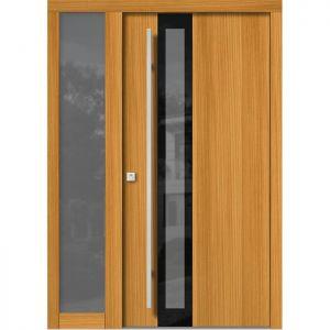 Lesena vhodna vrata KLI H 307 + ST