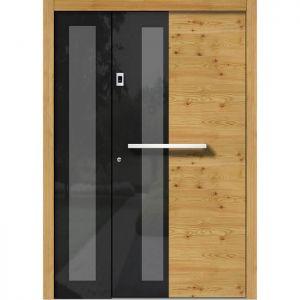 Lesena vhodna vrata KLI H 310 + ST