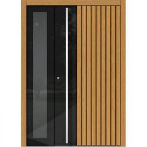 Lesena vhodna vrata KLI H 311 + ST