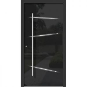 Lesena vhodna vrata KLI H 313L