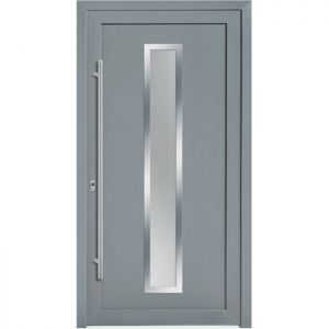 PVC vhodna vrata KLI 8177